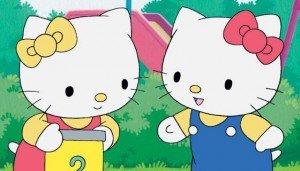 Kitty y su hermana gemela Mimmy
