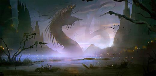 serpiente-midgard-Jörmungandr-monstruo-marino