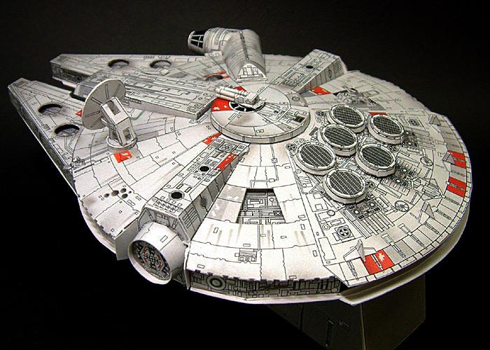 Millenium Falcon de papel - ÑOÑO