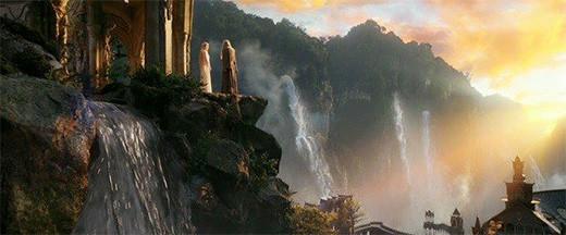 señor-anillos-gandalf-galadriel-rivendel