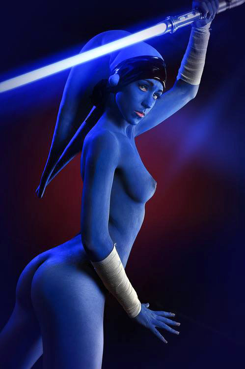 Star Wars caballero jedi desnuda