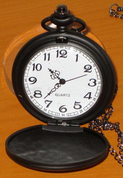 Reloj deadpool cadena y reloj de metal de bolsillo - Reloj de cadena ...