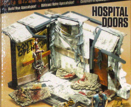 Maqueta puertas del hospital