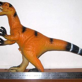 dinosaurio-raptor-grande-goma-blanda